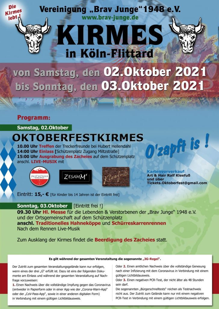 02. - 03.10.2021 Kirmes in Köln-Flittard